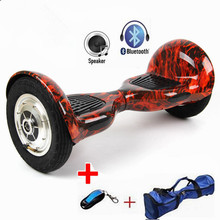 Free Tax Bluetooth Oxboard 10 Inch Hoverboard Smart Balance Wheel Gyropode Hover Board Scooter Electric Gyroscooter