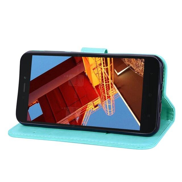 Obsługi Prestigio Muze E5 LTE przypadku luksusowe PU skórzany portfel z klapką z powrotem etui do telefonu Prestigio Muze E7 LTE 5.5 cal stojak mobilny Telefon pokrywa