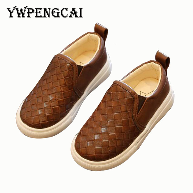 1-6 Years Kids Casual Shoes Boys Sneakers Spring Autumn Boys PU Leather Casual Shoes #8HP0230