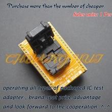 IC TEST QFN8 to DIP8 Programming Adapter WSON8 DFN8 MLF8 ic test socket size=5x6mm to iraq were ic 200