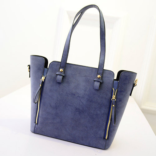 Hot Casual New Scrub Handbag Ladies Bag Zipper Retro Composite package Shoulder Bags