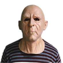 The Latest Best-selling Popular Halloween Costume Latex Old Man Mask