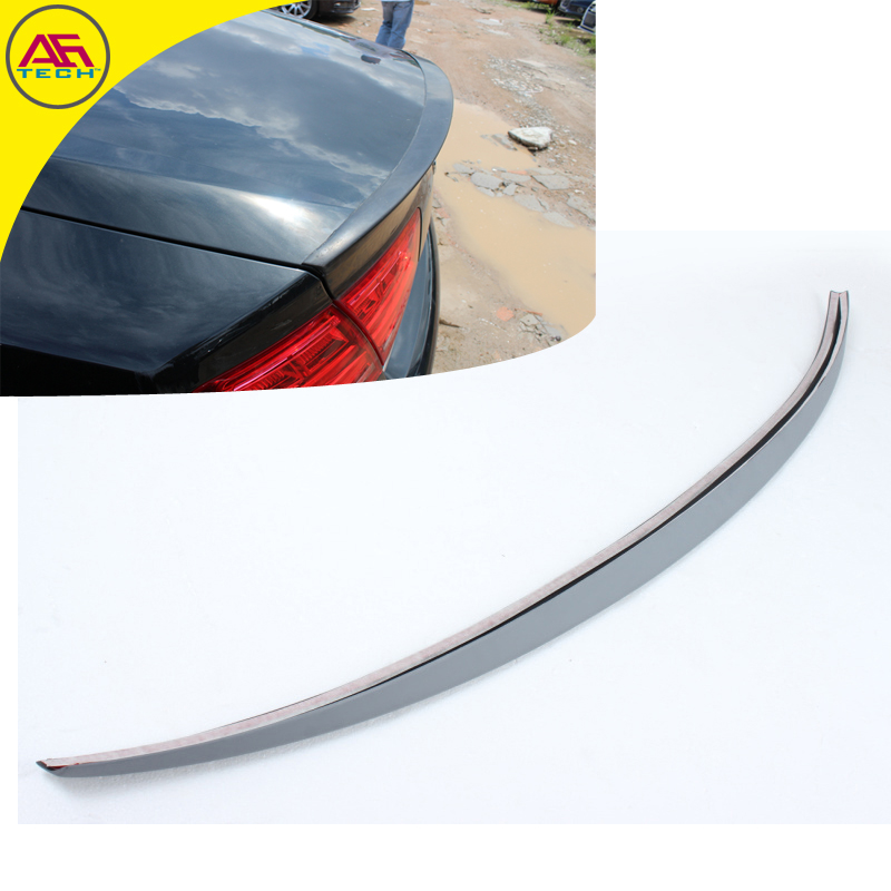 PU Primer Sline S8 Style A8 Car Rear Trunk Spoiler Wing