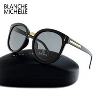 2017 High Quality Round Mirror Sunglasses Women Polarized UV400 Brand Designer Oculos Female Sunglass Polaroid Sun