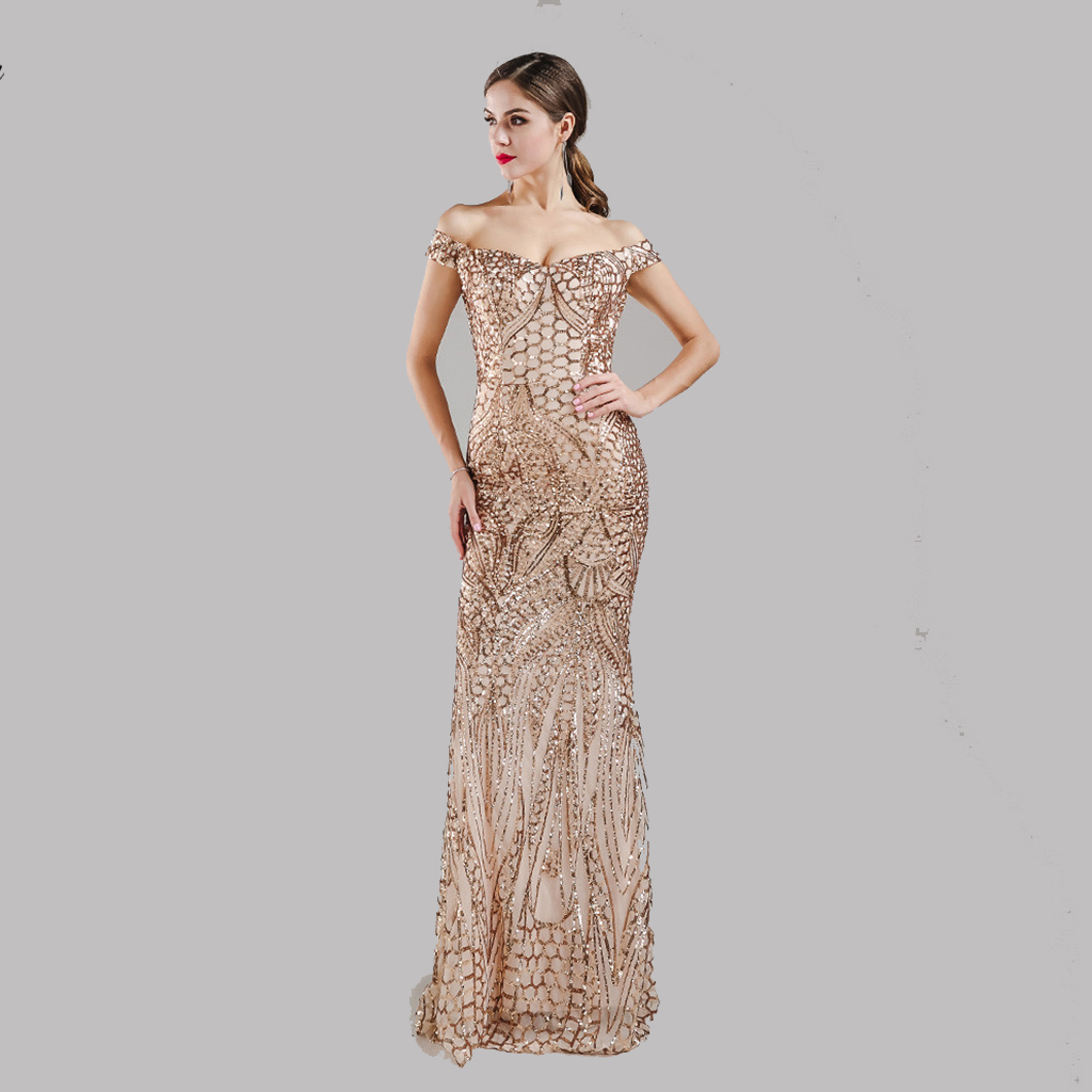 Us 21 45 14 Off Women S 20s Style Shining Fler Dress 1920s Vintage Gatsby Great Charleston Sequin Tel Party Gold Mesh Sequins In