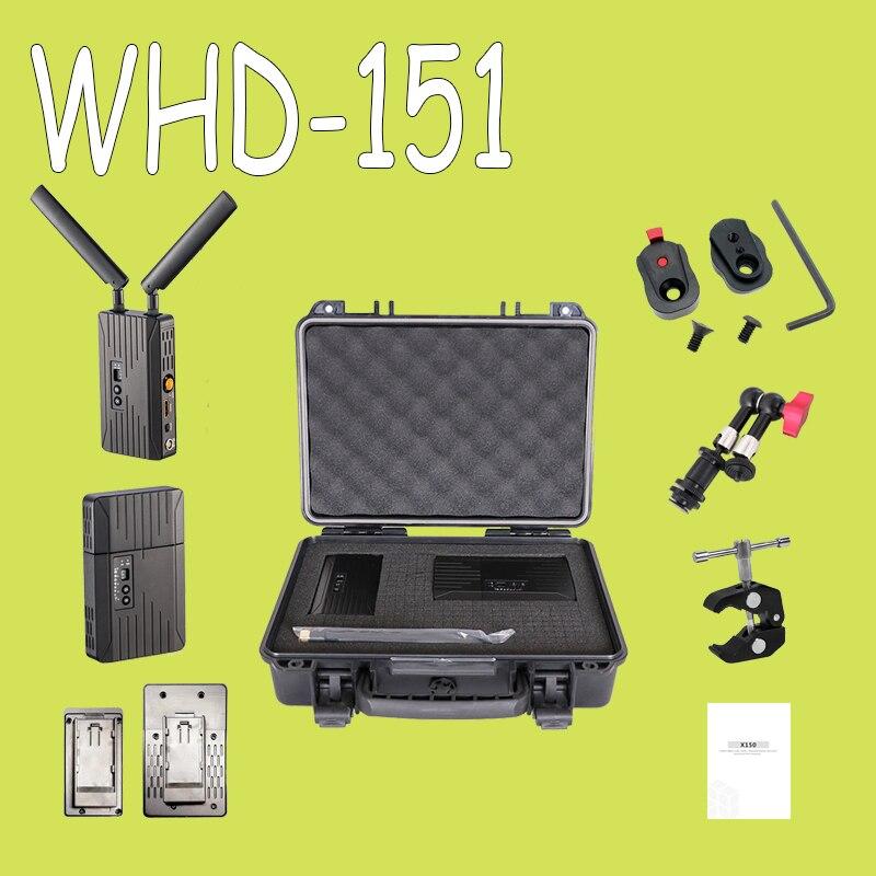 150 m/500ft 5 ghz HDMI SDI Sans Fil Transmission Système 3g 1080 p HD Vidéo TV Émetteur de Radiodiffusion et Récepteur