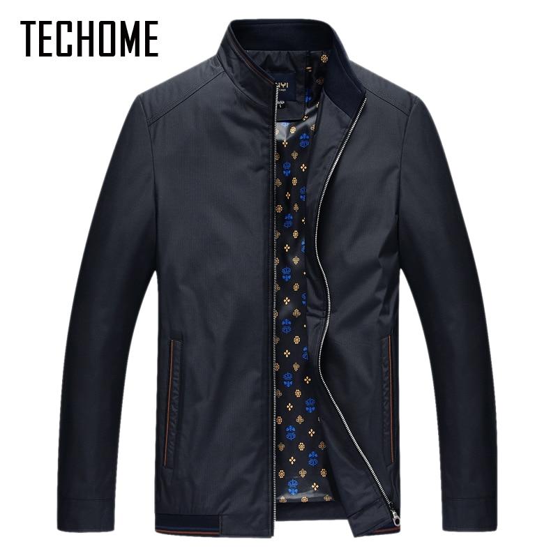Nueva chaqueta de primavera para hombre abrigo informal bombardero - Ropa de hombre