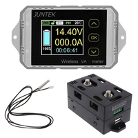 DC 400V 300A Wireless Bi directional Voltmeter Ammeter Capacity Volt Power Meter
