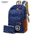 Wiliamganu 2017 caliente de la manera mujeres de la lona mochila de gran capacidad viajando mochilas mochilas escolares para adolescentes niñas bolsas