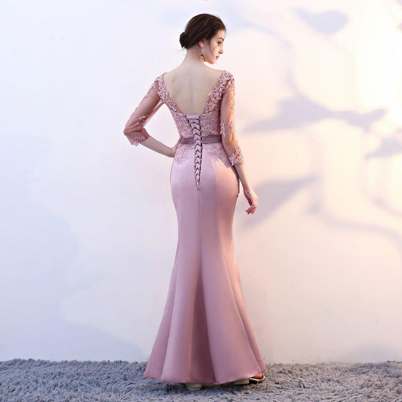 FADISTEE New arrival elegant party mermaid prom dresses evening dress Vestido de Festa gown lace sexy satin long formal