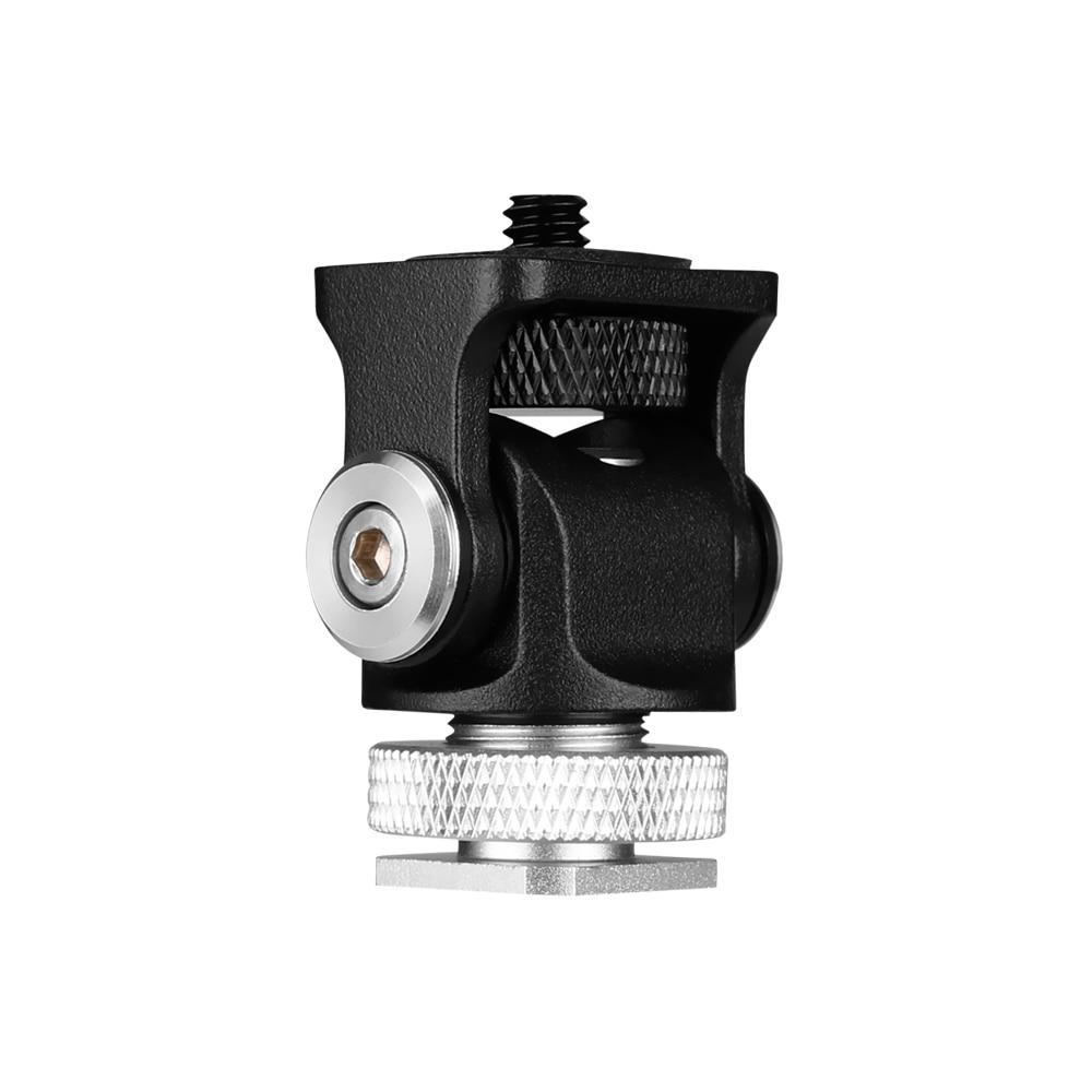 3 в 1 тройное крепление для холодного башмака пластинчатый микрофон Стенд светодиодный видео светильник удлинитель кронштейн для Zhiyun Smooth 4 Feiyu Vimble 2 Dji osm2
