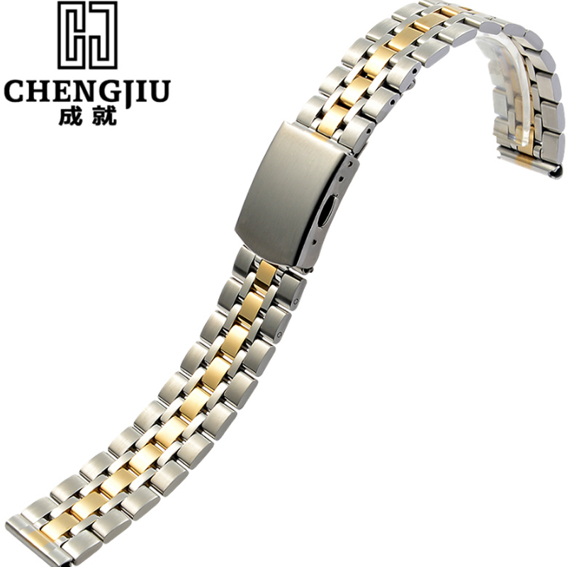 18 19 20mm Men's Stainless Steel Watch Strap For Tudor Prince Series Metal Buckle Top Quality Watchband Bracelet Belt For Male high quality lowest price wholesale kz 19 pneumatic combination steel metal strapping packing machine for 19mm steel strap tape