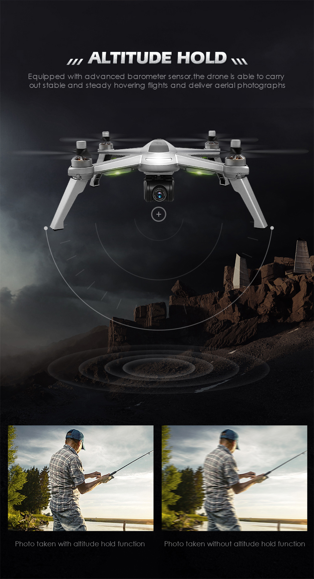 JJRC JJPRO X5 Professional Drone with Camera 1080P Brushless Motor High Hold Quadcopter Auto Follow GPS Positioning Fly  Mins 18