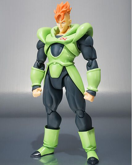 Android 16 Dragon ball Z action figure toy 1 12