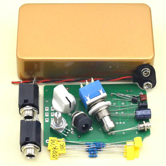 1 Nob Reverb Guitar Effect Pedal DIY Stompbox Kit