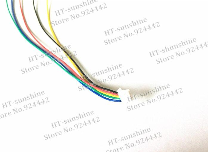 Высокое качество 300 шт./лот JST 1.0 мм sh1.0mm 5pin соединительный кабель Провода с DuPont 1pin 1 P кабель