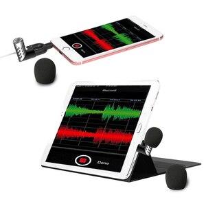 Image 2 - Беспроводной микрофон для телефона однонаправленный R1 Мини электретный конденсаторный микрофон мобильный телефон микрофон Запись для ток шоу/речи
