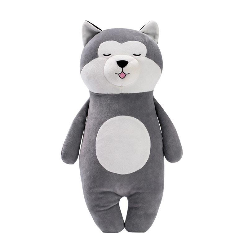 Soft Stuffed Toys Originality Standing Posture Husky Plush Toys Pillow Lint Toys Plush Doll Cartoon Dog Plush Toy