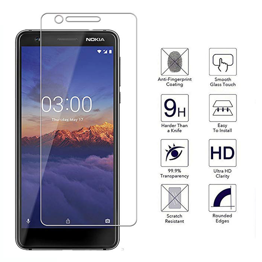 purchase cheap d482f 08976 US $1.1 35% OFF|Full Cover Tempered Phone Glass For Nokia 3 3.1 Plus X3  Full Glue Coverage Screen Protector For Nokia3 Nokia 3.1plus Film Glass-in  ...