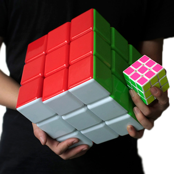 High Quality New 18cm 3x3x3 Big Magic Cube 18cm Neo Super Big Cubes 3*3*3 Cube Professional Educational Toy For Kid Best Gift 1