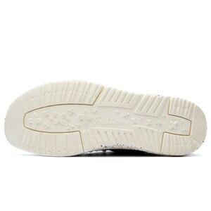 Image 3 - 2019 夏男性のキャンバスシューズ男性ビジネスカジュアルシューズ快適なレースアップローファーの靴男性男性運転靴ビッグサイズ 47