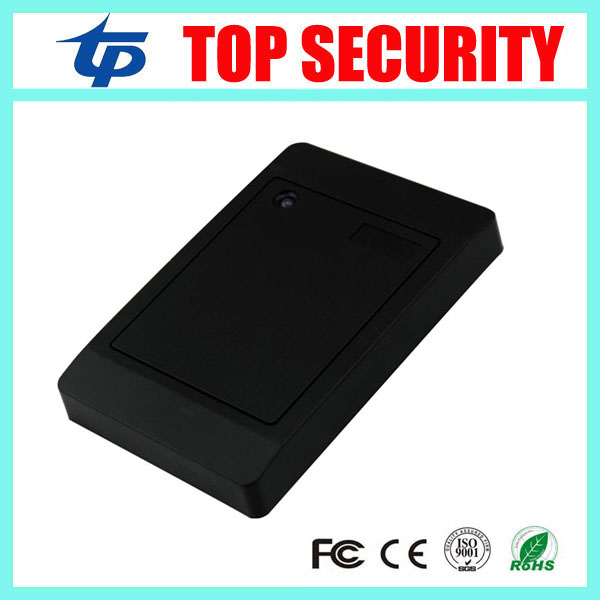 DHL free shipping good quality white color weigand26 RFID card access control reader 125khz RFID ID card reader proximity reader 125khz rfid reader