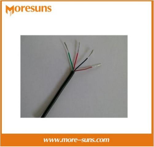 Free Ship 15m 4core Silica Gel Wire 0.2 Square Soft Silicone Core High-temperature Wire YGG Multicore HI-TEMP WIRE