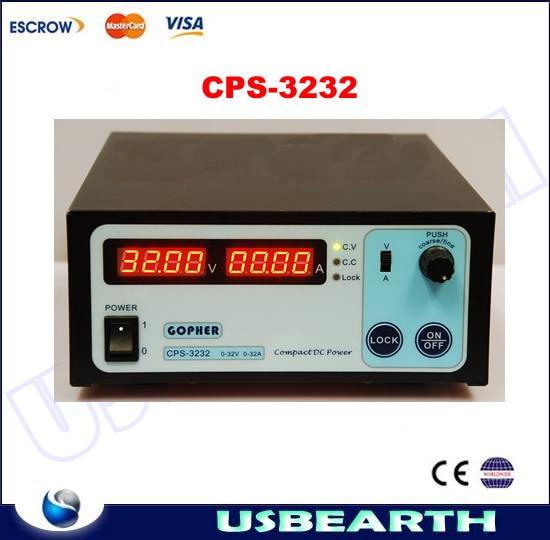 Full metal High power Digital Adjustable DC Power Supply OVP/OCP/OTP microprocessor(MCU) control 32V32A 170V-264V