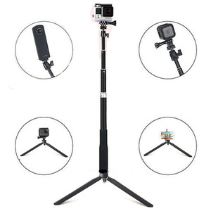 Image 4 - Anordsem อุปกรณ์เสริม Selfie Stick Monopod ขาตั้งกล้องสำหรับ GoPro HERO 8 7 6 5 4 SJ DJI Action กล้องสำหรับ Xiaomi Yi 4K