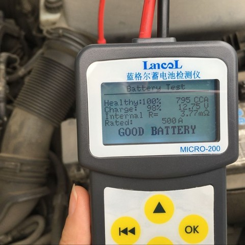 Lancol MICRO 200 Automotive Battery Analyzer Checker Battery Car Battery Measurement Unit Portable Vehicle Battery Tester Tool Islamabad