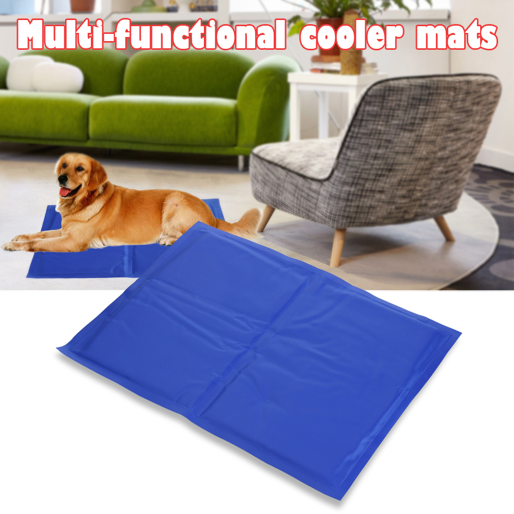 Pet Dog Cat Cooling Mats Soft Ice Pad Summer Puppy Pvc