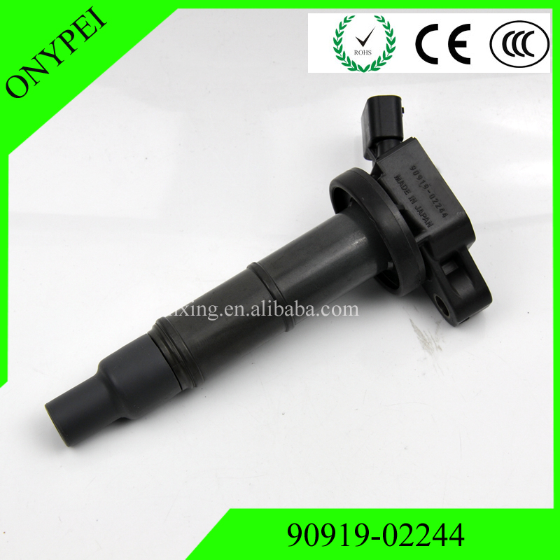 90919-02244 90919 02244 Ignition Coil For Toyota Camry Highlander RAV4 Scion tC xB Lexus 2.4 90919-02266 90919-02243 UF333 C1330