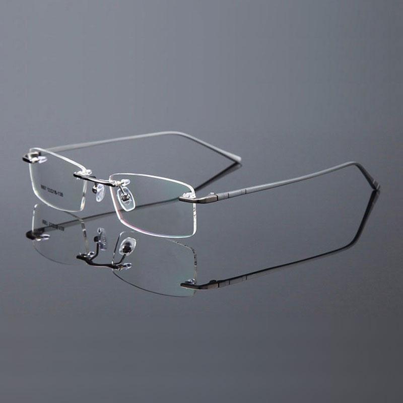 Reven Jate Randlose Brillen Legierung Metallrahmen Brillen Optische - Bekleidungszubehör - Foto 3