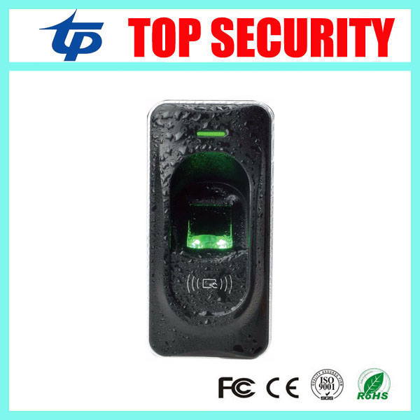 FR1200 fingerprint reader exit reader for F18, F2 and F8 access control system RS485 fingerprint and RFID card reader ZK FR1200 zk fingerprint access control system with rfid card reader dustproof fingerprint access control reader dustproof replace x7
