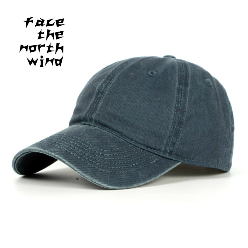 Prix pour Nouveau modèle de mode à laver Coton qualité casquette à visière Soleil chapeau Madame Simple casquette de baseball Hommes