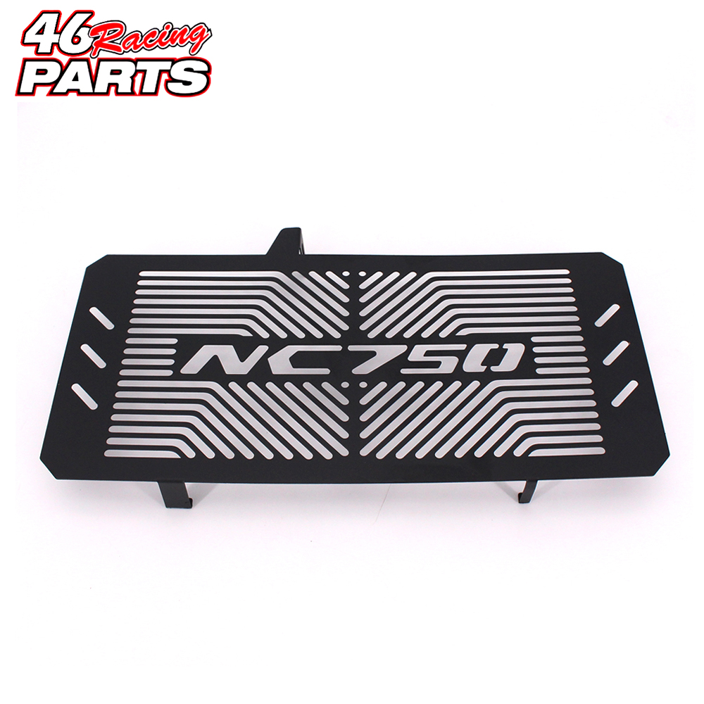 Black Motorcycle Accessories Radiator Guard Protector Grille Grill Cover For HONDA NC750 NC750S NC750X NC 750S