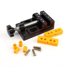 57mm Adjustable Mini Jaw Bench Clamp Drill Press Vice Table Vise DIY Sculpture Craft Hand Tool Woodworking 1pc jaw carving bench clamp drill press mayitr flat vice opening parallel table vise diy sculpture craft