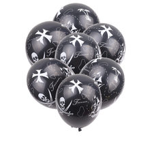 XXPWJ חדש 10 יח\חבילה פיראטים לטקס בלון קישוט מסיבת הפסטיבל לילדים באיכות גבוהה צעצועי Z 082