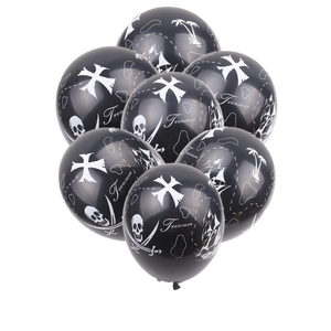 Image 1 - XXPWJ   New 10pcs/lot Pirate LaTeX Balloon Childrens Festival Party Decoration Toys High Quality     Z 082