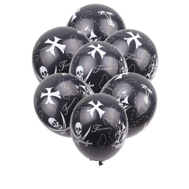 XXPWJ   New 10pcs/lot Pirate LaTeX Balloon Childrens Festival Party Decoration Toys High Quality     Z 082