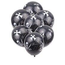 Xxpwj新しい10ピース/ロット海賊ラテックスバルーン子供の祭りパーティー装飾おもちゃ高品質Z 082