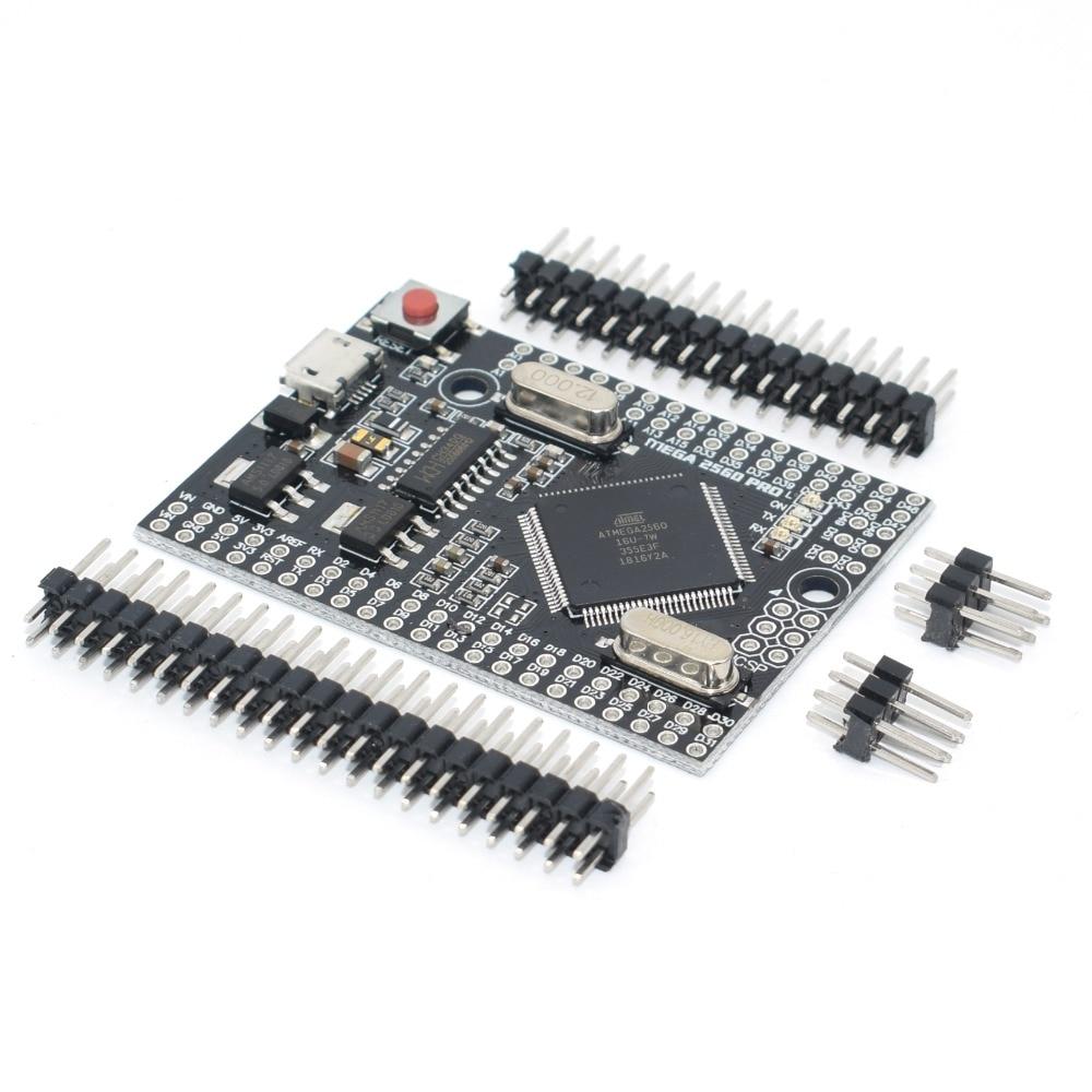 MEGA 2560 PRO Embed CH340G/ATMEGA2560-16AU Chip z męskimi pinheads kompatybilny dla arduino Mega2560 DIY 5