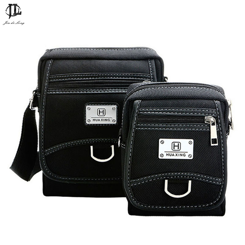 Parent-child Package Bag Men's Waterproof Messenger Sling Bag Casual Oxford Men's Travel Business Leather Crossbody Bag