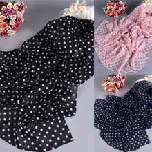 New Fashion Women Ladies Chiffon Floral Scarf Soft Wrap Long Polka Dot Hot