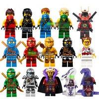 Bainily Single Sale New Yang Gereral Kozu Echo Zane Pythor Kai Buidling Blocks Figures Compatible