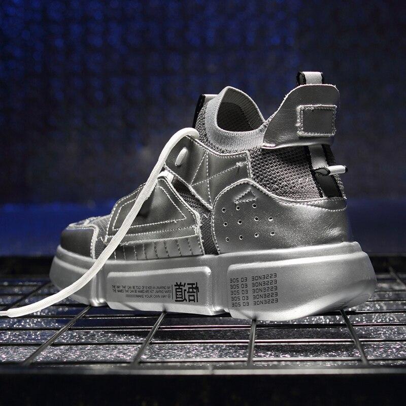 Automne c Homme Chaussure e Zapatos Hommes Papa Ins f Blanc Sneakers Casual d 2019 Zanvllchy Mode a De Chaussures Marée Printemps National B Et xZ8RBcqTFc