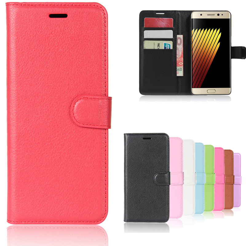 Hot Selling For Samsung Galaxy Note 7 Case Wallet Style PU Leather Case for Samsung Note 7 N930 N930F N930G with Stand Function