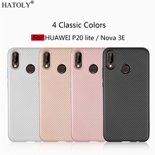 Phone Case Huawei P20 Lite Case Soft Rubber Silicone Armor Phone Cover For Huawei P20 Lite Case For Huawei Nova 3E Phone Bag