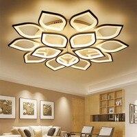 Потолочная люстра  светодиодная  белая  для гостиной  спальни  Dec AC85-265V