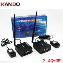 3W FPV transmitter special cooling fan 4channel 2 4G Wireless video audio transceiver for cctv 2